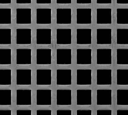 Perforated Metal Sheet In A Variety Hole Sizes And Patterns